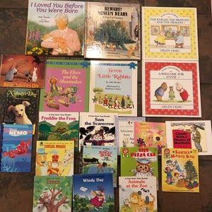 Mixed lot of books kids children's